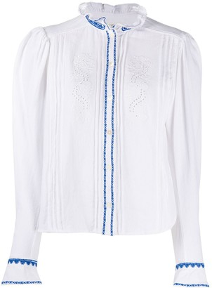 Etoile Isabel Marant Rosie embroidered blouse