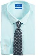 Men\'s Extra-Slim Fit Dress Shirt & Tie Set