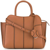 Tod's globe shopping tote - women - Leather - One Size