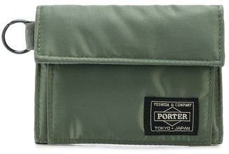 Porter-Yoshida & Co logo patch wallet