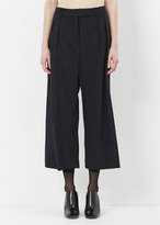 J.W.Anderson black highwaisted culotte