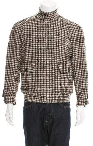 Haver Sack Wool Check Blouson