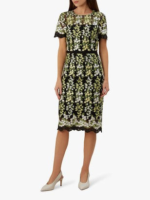 Hobbs Rhoda Lace Dress, Multi