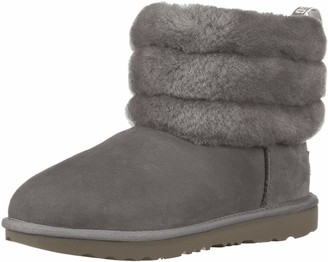 UGG Kids' T Fluff Mini Quilted Fashion Boot