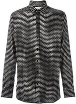 Saint Laurent playing cards printed shirt - men - Viscose - 40
