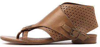 Django & Juliette New Prickles Tan Womens Shoes Casual Sandals Sandals Flat