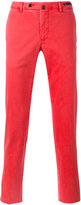 Pt01 washed trousers - men - Cotton/Spandex/Elastane - 50