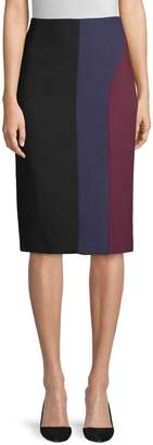 HUGO BOSS Colorblock Ponte Skirt