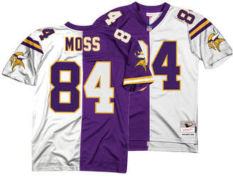 Mitchell & Ness Men Randy Moss Minnesota Vikings Home & Away Split Legacy Jersey