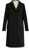 Lemaire Single-breasted notch-lapel wool coat