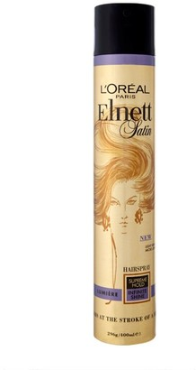 L'Oreal Elnett Satin Hairspray Lumiere Supreme Hold 400Ml