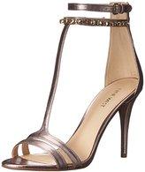 Nine West Women's Dana Metallic Heeled Sandal