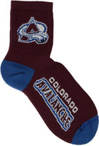 For Bare Feet Colorado Avalanche Ankle TC 501 Med Socks