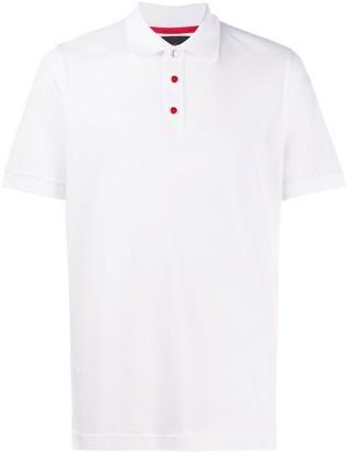 Kiton Contrast Button Polo Shirt
