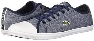 Lacoste Ziane Sneaker 319 1 (Navy/White) Women's Shoes