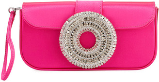 Gedebe Jeni Satin Clutch Bag