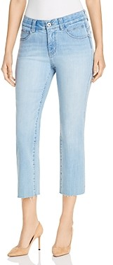Jag Jeans Ruby Cropped Straight Jeans in Island Blue