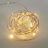 CB2 Copper Sprinkle 21' Line Lights