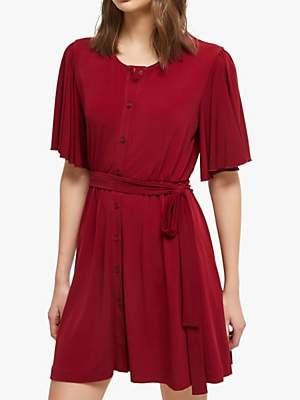French Connection Serafina Slinky Jersey Belted Dress