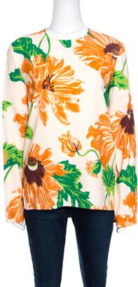 Stella McCartney Multicolor Large Poppy Printed Louisa Blouse S