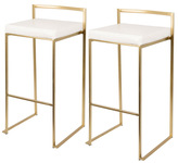 Lumisource Fuji Barstools (Set of 2)
