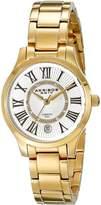 Akribos XXIV Women's AK570YG Lady Diamond Stainless Steel Diamond Bracelet Watch