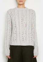 Inhabit Luxe Cable Sweater