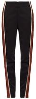Wales Bonner Palms contrast-stripe track pants