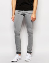 Ldn Dnm Skinny Jean Light Grey Wash