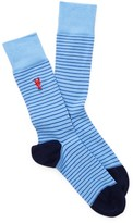 Cole Haan Pinch Pin Stripe Socks