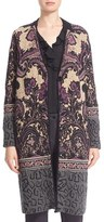 Etro Women's Jacquard Knit Coat