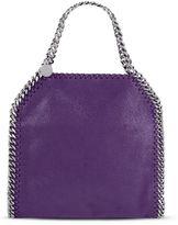Stella McCartney bright purple falabella mini tote