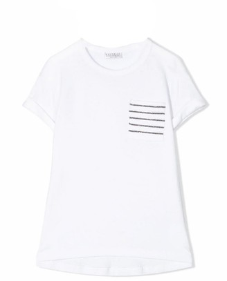 Brunello Cucinelli White Cotton T-shirt