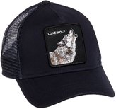 Goorin Bros. Mens Lone Wolf Animal Trucker Baseball Cap (Navy)