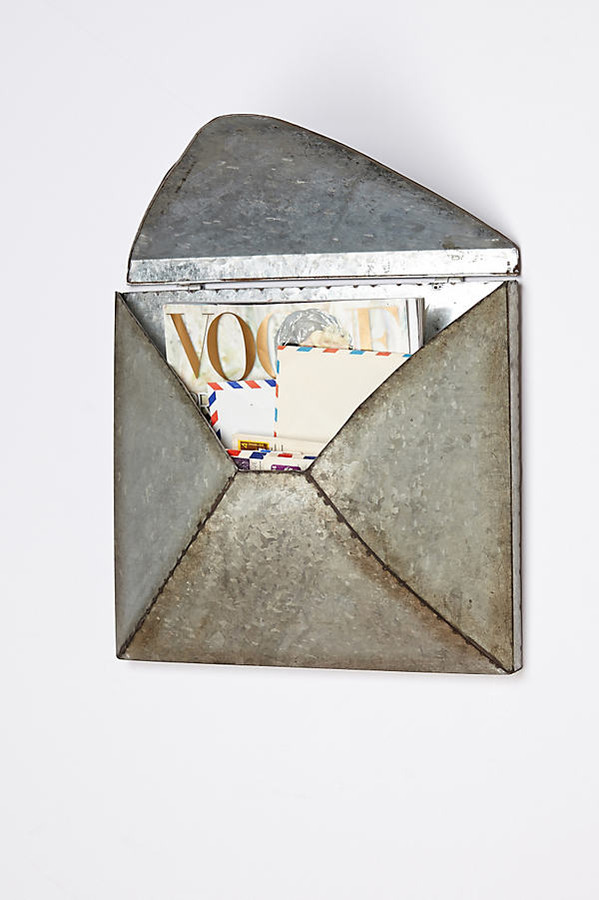 Welded Letter Holder By Anthropologie in Silver Size ALL