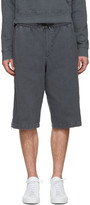 McQ by Alexander McQueen Black Side Zip Shorts