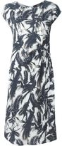 Steffen Schraut palm tree print dress