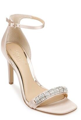 Badgley Mischka Ranya Embellished Stiletto Sandal