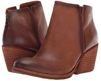 Kork-Ease Chandra (Black Full Grain Leather) Women's Boots