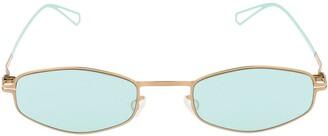 Mykita Bernhard Willhelm Silver Sunglasses