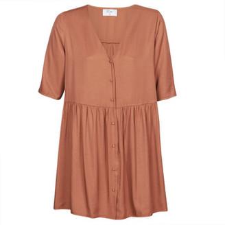 Betty London MOUDENE women's Dress in Brown