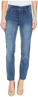Tribal Pull-On Ankle 28 Dream Jeans in Retro Blue (Retro Blue) Women's Jeans