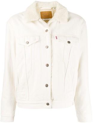 Levi's Original Sherpa Trucker denim jacket