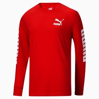 Puma Classics Logo Men's Long Sleeve Tee