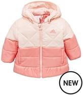 adidas Baby Girl Full Zip Padded Hooded Jacket