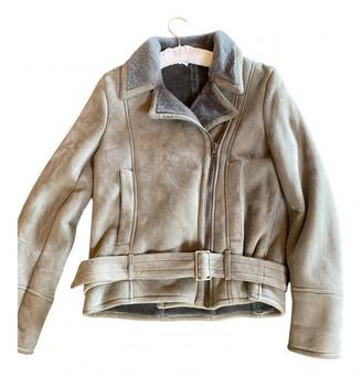 Maison Margiela Grey Suede Jackets
