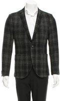 Tiger of Sweden Plaid Wool Blazer