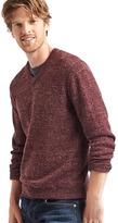 Gap Heathered V-neck sweater