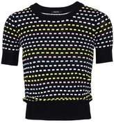 Raoul Cotton-Blend Jacquard-Knit Top