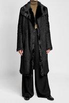 Joseph Suede and Fur Coat